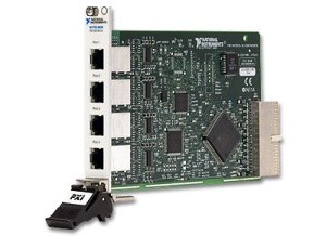 NI PXI-8430/4 (RS232) High-Performance, 4-Port Serial Interface