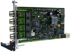 G301 - 3U CompactPCI® Serial Unmanaged 4+1-Port Eth. Switch