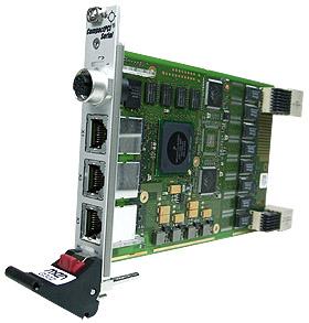 G302 - 3U CompactPCI® Serial Industrial Ethernet Switch