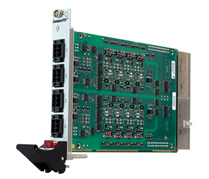 F403 - 3U CompactPCI® Binary I/O Card for Railways