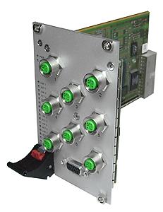 F302 - 3U CompactPCI® Managed 8+1-Port Eth. Switch