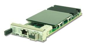 AMC734 - PrAMC based on CN67XX Packet Processor (quad SFP+)