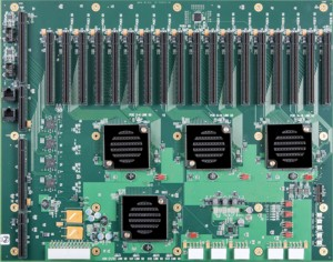 BPG8032 PCI Express Backplane