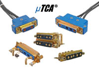 MicroTCA Power Connector