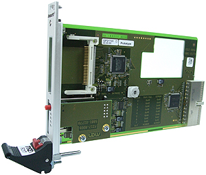 F217 - 3U CompactPCI® Memory Card Carrier