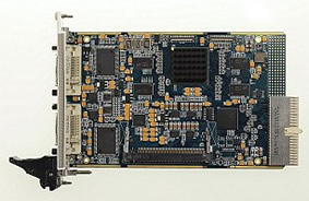 H264-ULL-cPCI - Dual-channel 3U CompactPCI HD H.264 Encoder