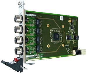 G211 - 3U CompactPCI® Serial Quad Gigabit Ethernet Interface