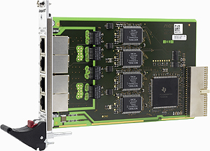 F211 - 3U CompactPCI® Quad Fast Ethernet Interface
