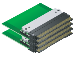 CN084 MCH Plug connectors for MicroTCA systems