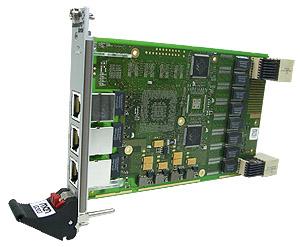 G303 - 3U CompactPCI® Serial Industrial Ethernet Switch