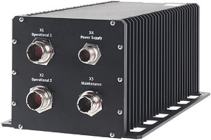 CPCI Rack - Single Euro with Conduction Cooling