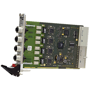 F305 - Quad Fast Ethernet / Real-Time Ethernet Interface