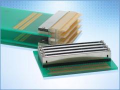 CN080 AdvancedMC Back Plane connectors for MicroTCA systems