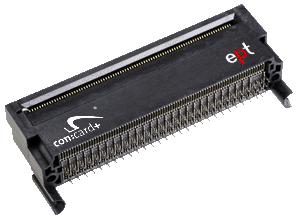 AdvancedMC type B+ connector for ATCA