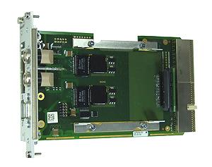 F606 - 3U CompactPCI® Side Card Gb Ethernet