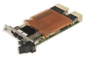 3U CompactPCI S.0 PCIe/GB Ethernet Switchboard KIC551