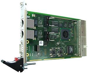 F218 - 3U CompactPCI® MPC8314 Slave Board