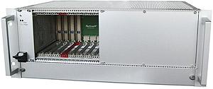 CPCI to CPCI Serial Hybrid Rack for Single Eurocards
