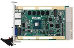 3U CompactPCI Quad-Core Intel® Atom Processor Blade: cPCI-3620